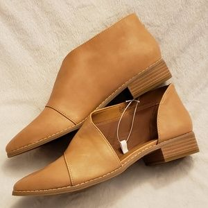 Universal Thread | Tan Cut Out Booties | NWT